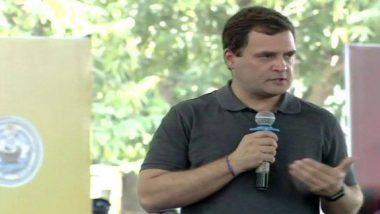 चेन्नई: राहुल गांधी की प्रधानमंत्री को बड़ी चुनौती, कहा- रॉबर्ट वाड्रा के साथ भ्रष्टाचार मामले में मोदी की भी जांच करो'