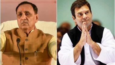 गुजरात के CM विजय रूपाणी के मंत्री का विवादित बयान, राहुल गांधी शिव के 'अवतार' हैं तो विष पीकर जिंदा रहकर दिखाएं
