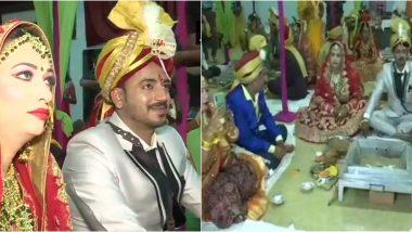छत्तीसगढ़ में एक साथ 15 किन्नरों ने रचाई सामूहिक शादी, कहा- 'हमें भी जीवनसाथी चुनने का हक'
