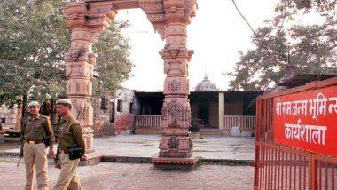 आतंकी हमले की खुफिया सूचनाओं के बाद अयोध्या में बढ़ाई गई सुरक्षा, प्रमुख मंदिरों के आसपास तैनात रहेंगे पुलिस कर्मी