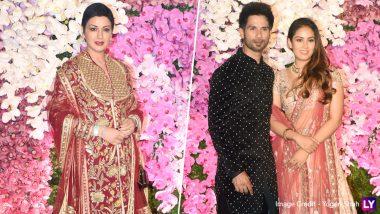Akash Ambani-Shloka Mehta Wedding Reception: सोनाली बेंद्रे से लेकर शाहिद-मीरा तक, ग्रैंड रिसेप्शन में इन बॉलीवुड सितारों ने की शिरकत
