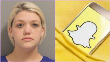 टेक्सास: महिला टीचर ने स्नैपचैट पर 15 साल के स्टूडेंट को भेजे अपने न्यूड फोटोज और मास्टरबेशन वीडियोज, हुई गिरफ्तार