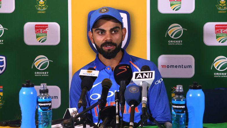 India vs Australia 2019: दुसरे वनडे में मिली जीत के बाद कप्तान कोहली ने इस खिलाड़ी की जमकर की तारीफ