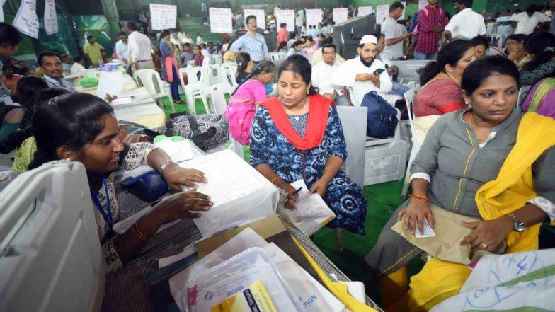 लोकसभा चुनाव 2019: तेलुगू राज्यों की 42 लोकसभा सीटों और आंध्र प्रदेश विधानसभा के लिए मतदान जारी