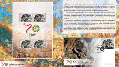 मुस्लिम बहुल देश इंडोनेशिया ने जारी किया रामायण पर विशेष स्मारक डाक टिकट