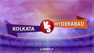 IPL 2019: सनराइजर्स हैदराबाद ने कोलकाता नाइट राइडर्स को 9 विकेट से दी करारी मात, जॉनी बेयरस्टो और डेविड वार्नर ने लगाया अर्धशतक