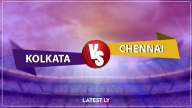 KKR vs CSK, IPL 2019 Live Cricket Score: यहां देखें KKR vs CSK के आज के मैच का लाइव क्रिकेट स्कोर