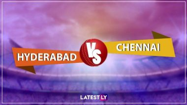 IPL 2019: मनीष पांडे और डेविड वार्नर ने लगाया शानदार अर्धशतक, हैदराबाद ने चेन्नई को दिया 176 रन का लक्ष्य