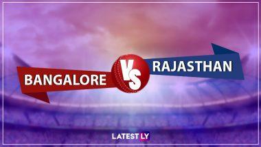IPL 2019 : आज राजस्थान रॉयल्स और रॉयल चैलेंजर्स बेंगलोर के बीच होगी भिडंत, एम. चिन्नास्वामी स्टेडियम में होगा मुकाबला