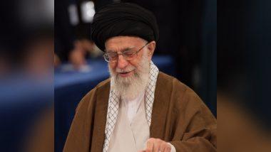 धार्मिक नेता अयातुल्ला अली खामनेई ने की अमेरिकी सेना को इराक से हटाए जाने की मांग