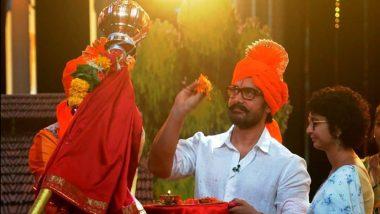 गुड़ी पड़वा पर आमिर खान ने किरण राव के साथ शेयर की ये खूबसूरत तस्वीर, इन सेलेब्स ने भी किया विश