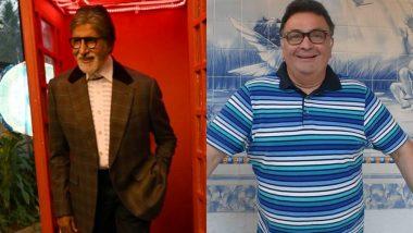 अमिताभ बच्चन ने बताया आखिर वो ऋषि कपूर से मिलने अस्पताल कभी क्यों नहीं गए