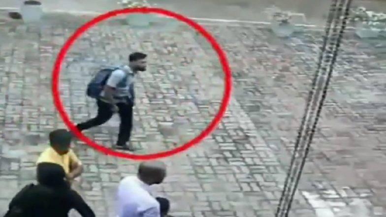 श्रीलंका सीरियल ब्लास्ट का एक CCTV वीडियो आया सामने, संदिग्ध हमलावर हुआ कैमरे में कैद