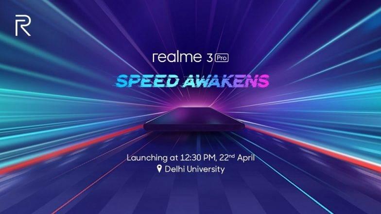 Realme 3 Pro भारत में 22 अप्रैल को होगा लॉन्च, शाओमी के Redmi Note 7 Pro से होगी टक्कर