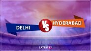 SRH vs DC, IPL 2020 Live Cricket Streaming: सनराइजर्स हैदराबाद बनाम दिल्ली कैपिटल्स के रोमांचक मैच को आप Disney+Hotstar पर देख सकते हैं लाइव