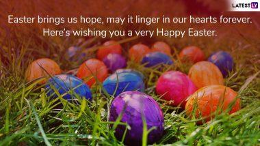 Happy Easter 2019 Wishes and WhatsApp Messages: इन खुबसूरत शुभकामना संदेशों के जरिए अपने दोस्तों, रिश्तेदारों को दें ईस्टर की बधाई