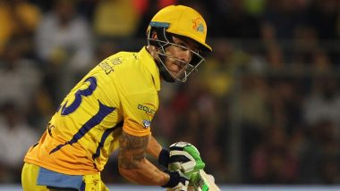 IPL 2019: दिल्ली के खिलाफ दूसरे क्वालीफायर मुकाबले में शानदार बल्लेबाजी के लिए फाफ डु प्लेसिस को मिला 'मैन ऑफ द मैच' अवार्ड
