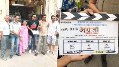 कैंसर के इलाज के बाद फिल्म के सेट पर वापस लौटे इरफान खान, 'अंग्रेजी मीडियम' की शुरू हुई शूटिंग