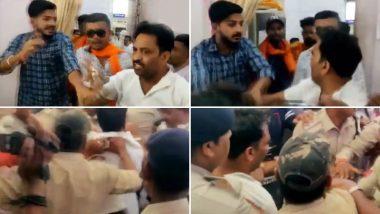 लोकसभा चुनाव 2019: साध्वी प्रज्ञा सिंह ठाकुर के रोड शो में हंगामा, काले झंडे दिखाने पर दो युवकों को पीटा, वीडियो वायरल