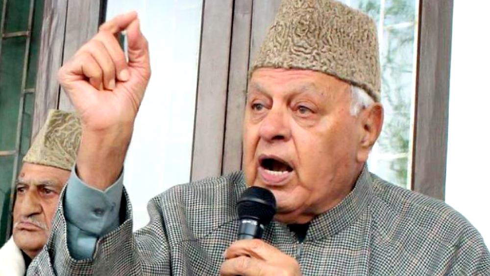 कश्मीर मसले पर फारुक अब्दुल्ला का बड़ा बयान, कहा- सैन्य ताकत से कुछ हासिल नहीं होगा, बातचीत के जरिए सुलझाएं
