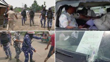 पश्चिम बंगाल: रायगंज में वोटिंग के दौरान भारी हिंसा, लेफ्ट नेता मोहम्मद सलीम की गाड़ी पर हमला, मतदान पर पड़ा असर