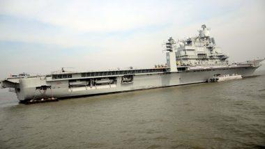 जंगी जहाज INS विक्रमादित्य में लगी आग, नौसेना का एक अधिकारी शहीद, जांच के आदेश