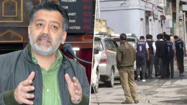 जम्मू-कश्मीर: पूर्व मंत्री और पीपुल्स कांफ्रेंस के नेता इमरान रजा अंसारी के ठिकानो पर IT का छापा