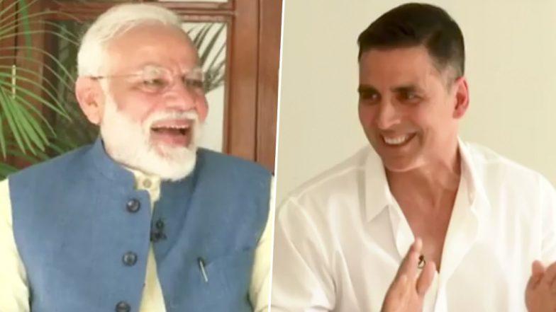 अक्षय कुमार के साथ प्रधानमंत्री नरेंद्र मोदी का अनोखा इंटरव्यू, देखें पूरा वीडियो