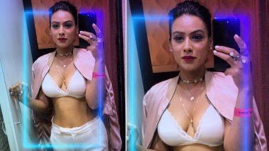 टीवी की हॉट अदाकारा निया शर्मा ने ब्रा पहनकर किया पोज, सोशल मीडिया पर मची खलबली