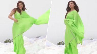 परिणीति चोपड़ा ने हरी साड़ी पहनकर किया हॉट डांस, बताया-ऐसे बनते हैं यशराज की हीरोइन