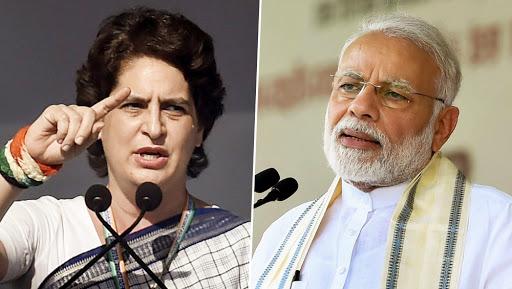 प्रियंका गांधी का पीएम मोदी पर बड़ा हमला, कहा- जनता की हालत देख भारत माता रो रही हैं और प्रधानमंत्री चुप हैं