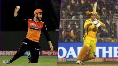 SRH vs CSK, IPL 2019 Live Cricket Score: यहां देखें SRH vs CSK के आज के मैच का लाइव क्रिकेट स्कोर