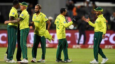 Team South Africa, ICC Cricket World Cup 2019: आईसीसी क्रिकेट वर्ल्ड कप में चोकर्स नाम से मशहुर अफ्रीकी टीम ने अनुभवी खिलाड़ियों को दिया वर्ल्ड कप का टिकट, देखें लिस्ट