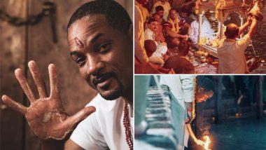 हॉलीवुड अभिनेता विल स्मिथ ने हरिद्वार में की मां गंगा की आरती, वीडियो हुआ वायरल