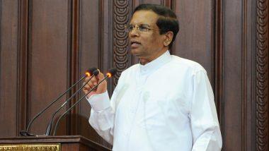 श्रीलंका में ईस्टर पर हुए धमाकों के पीछे ड्रग माफिया का हाथ: राष्ट्रपति मैत्रीपाला सिरिसेना