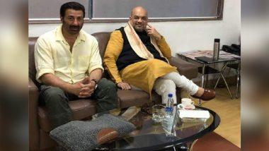 लोकसभा चुनाव 2019: हेमा मालिनी- धर्मेंद्र के बाद सनी देओल भी जॉइन करेंगे BJP? अमित शाह के साथ ये फोटो हुई Viral