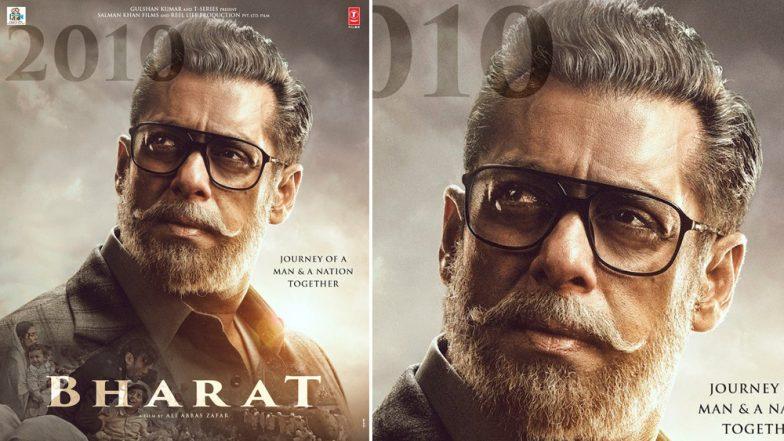 फिल्म 'भारत' से सलमान खान का अनोखा लुक आया सामने, भाईजान को पहचान पाना है मुश्किल