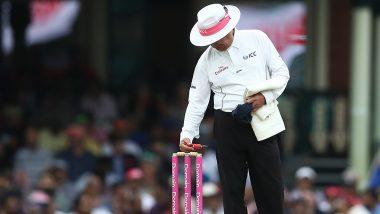 IPL 2019: अंपायर साहब गेंद जेब में रखकर खिलाड़ियों के साथ ढूढ़ रहे थे, रिप्ले में दिखा सच