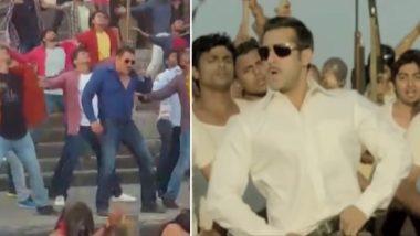 फिल्म 'दबंग 3' का टाइटल सॉन्ग हुआ लीक, सलमान खान जमकर कर रहे हैं डांस, देखें वीडियो