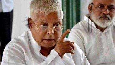 राहुल गांधी का कांग्रेस अध्यक्ष पद से इस्तीफा देना पार्टी के लिए आत्मघाती हो सकता है: लालू यादव