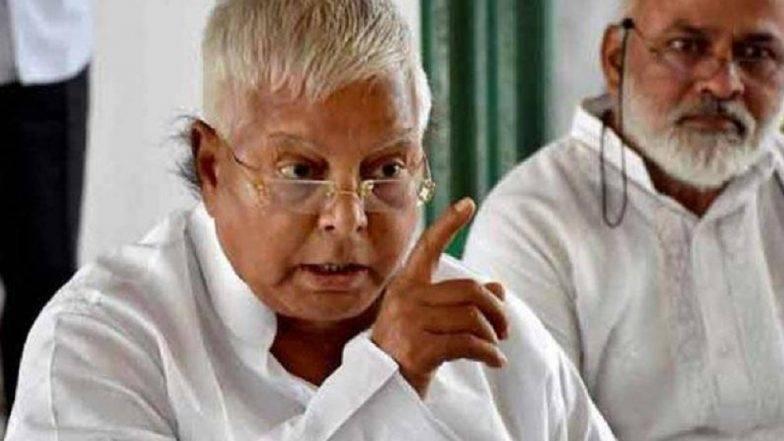 लालू यादव को बीजेपी नेता संजय मयूख ने दिया नारे से जवाब- दो हजार बीस, फिर से नीतीश