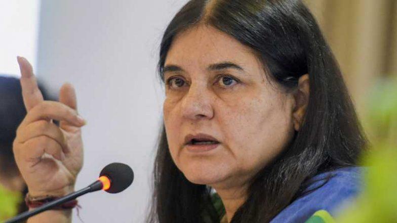 लोकसभा चुनाव 2019: केंद्रीय मंत्री मेनका गांधी ने रोड शो के बाद सुल्तानपुर सीट से किया नामांकन