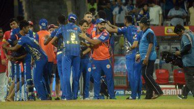 IPL 2019: पंजाब के खिलाफ रोमांचक मैच में मिली जीत के बाद मुंबई इंडियंस के खिलाड़ियों ने मनाया खास अंदाज में जश्न, Watch Video
