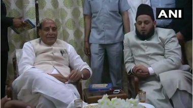 लोकसभा चुनाव 2019: गृहमंत्री राजनाथ सिंह लखनऊ में मुस्लिम धर्मगुरुओं से की मुलाकात, जीत के लिए मांगा समर्थन
