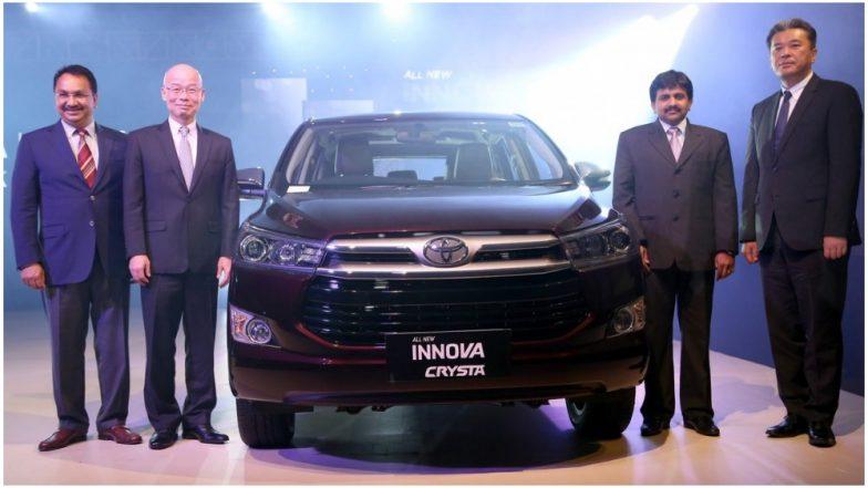 Toyota ने लॉन्च किया इनोवा क्रिस्टा और फॉर्च्यूनर का नया वर्जन, इन शानदार फीचर्स से है लैस