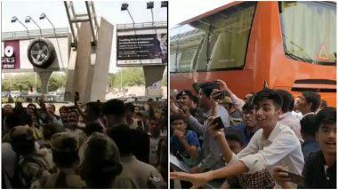 IPL 2019: जयपुर पहुंचे धोनी का शाही अंदाज में हुआ स्वागत, फैंस ने लगाए 'धोनी-धोनी' के नारे, देखें VIDEO