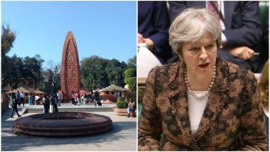 जलियांवाला कांड पर ब्रिटेन की प्रधानमंत्री थेरेसा मे ने कहा- यह भारत में ब्रिटिशकालीन इतिहास के लिए शर्मनाक धब्बा