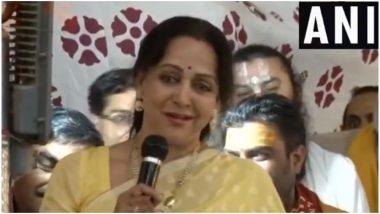 हेमा मालिनी ने की पीएम मोदी के नेतृत्व की तारीफ़, कहा- देश में तेजी से बदलाव हो रहा है