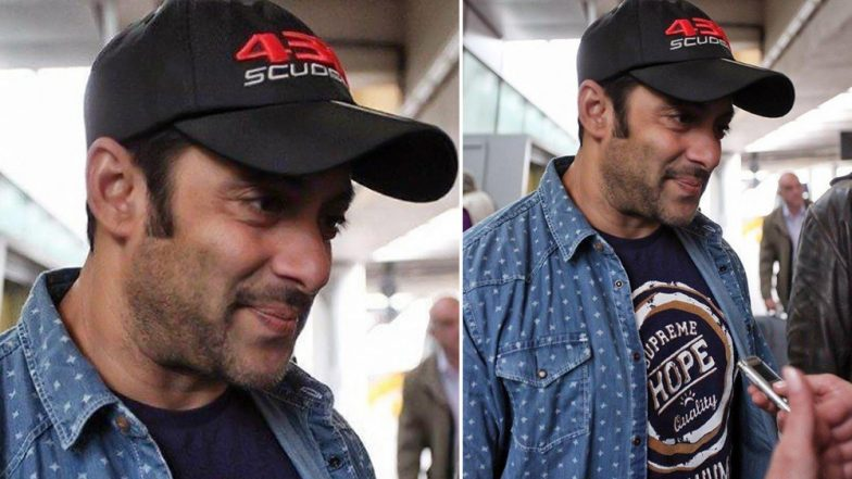सलमान खान ने फैन का मोबाइल छीनकर की बदसलूकी, पुलिस में दर्ज हुई शिकायत
