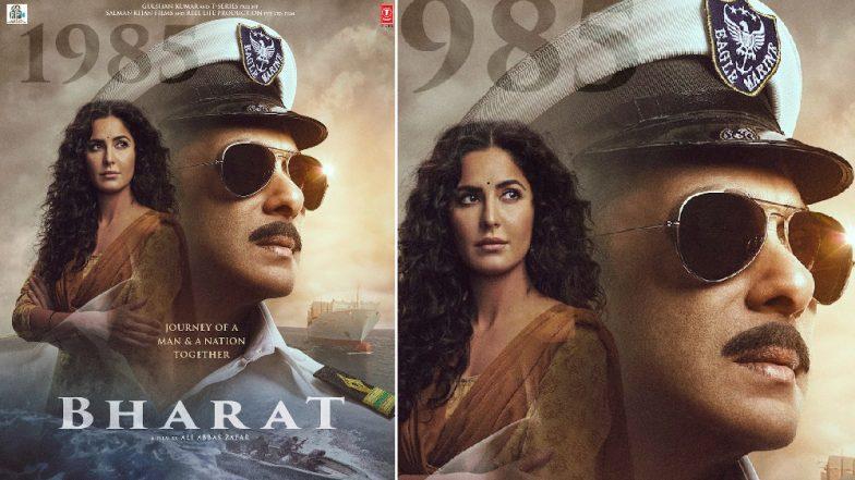 Salman Khan Bharat New Poster: सलमान खान बने शिप कैप्टेन, कैटरीना कैफ का दिखा हॉट अवतार